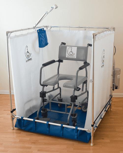 portable indoor shower