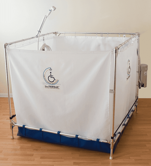 Portable Shower Stall Fawssit B5000 Bariatric