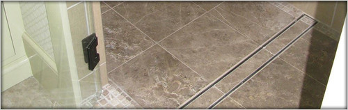 36 Inch LUXE Linear Drain | Tile In Style