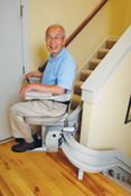 Bruno COMMERCIAL Stair Lift | Custom Curve | Made in USA