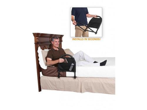 Bed Rail Advantage Doubles as a Bed Grab Bar