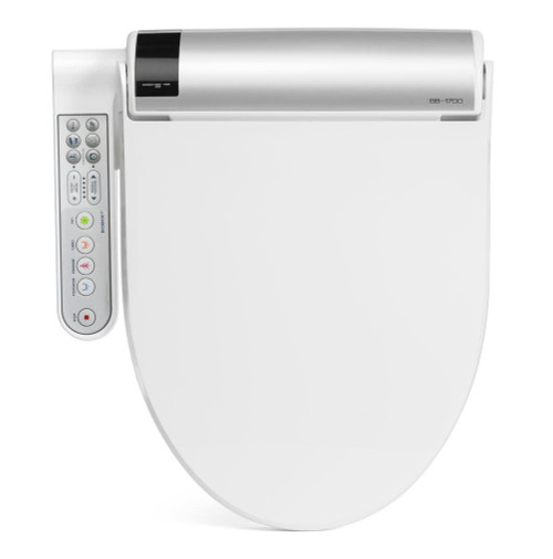 Bidet Toilet Seat | BLISS with Side Controls by BioBidet Top View