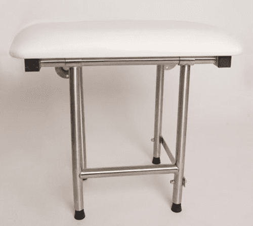 Wall Mounted Shower Seat | Folding U0026 Padded | 500# Wt Cap