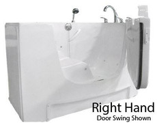 Freestanding Bariatric Walk-in tub | Mediterranean by Rane (Rane RB14)