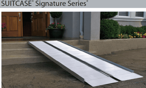 Aluminum Portable Handicap Ramp 7 Foot