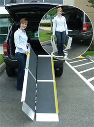 TriFold Ramp Advantage Series | 10 FOOT | Portable Ramps (Trifold AS10)