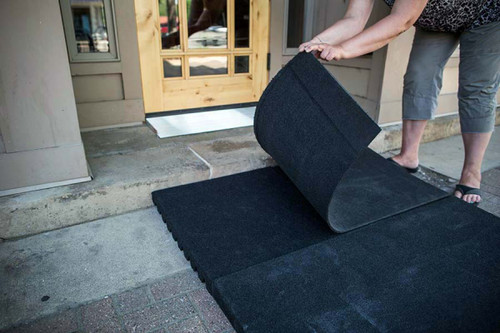 Rubber Threshold Ramp Ez Access Ramps Up To 4 3 4 Quot Rise
