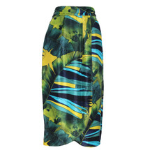 J. Crew Collection Tulip Faux-wrap Skirt in Jungle (6)