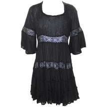 Pre-owned Free People Daisy Lace Dress - Black - small