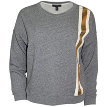Pre-owned J. Crew Racing-stripe sweatshirt Grey (XS)