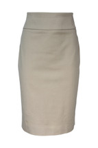Pre-Owned J.Crew Tall No. 2 Pencil Skirt in Bi-Stretch Cotton (2T)