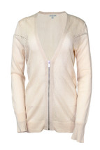 Pre-Owned Calvin Klein Perforated Cardigan Faded Peach (M)