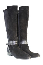 Pre-owned Via Spiga 'Alden' Moto Boot  Tall black (Women) (9)