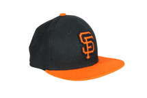 Pre-owned New Era San Francisco SF Giants GAME 59Fifty Fitted Hat (Black) MLB Cap (6.5)
