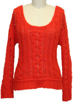 FREE PEOPLE Fluff Wildfire Size Xsmall Msrp $108 Sweater