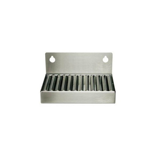 Wall Mount Drip Tray Stainless Steel No Drain 4x6