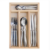 Laguiole 24 piece cutlery set Stainless Steel by Jean Dubost