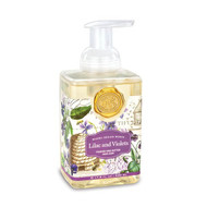 Lilac and Violets Foaming Hand Soap by Michel Design Works