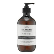 Ladelle All Natural Hand Wash Pink Grapefruit and Pomegranante - No nasties - just essential oils, plant extracts and organic ingredients - 500 ml