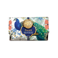 Peacock Large Bath Soap Bar by Michel Design Works