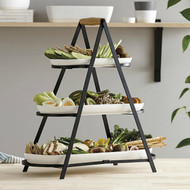 Serve and Share Serving Tower by Ladelle