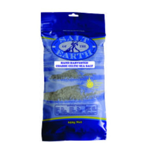 celtic sea salt - course - in a 650 g resealable pack