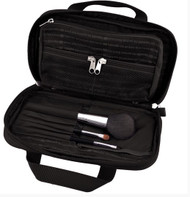 Lapoche Make me up bag - black - contents NOT included.