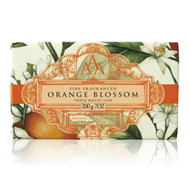 Packed with detail and made with care. Orange Blossom fragrant soap.