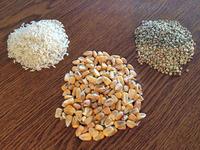 Corn Rice Buckwheat Flax Microwave Heating Pad