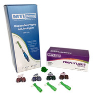Disposable Prophy AirLite Angles + Prophylaxis Paste (1000 Count Each) Combos