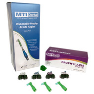 Disposable Prophy AirLite Angles + Prophylaxis Paste (4000 Count Each) Combos