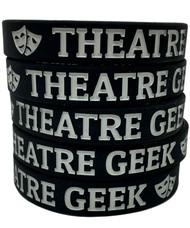 Theatre Geek - silicone wristband