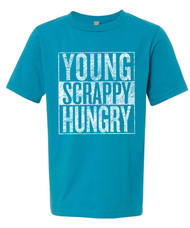 Young Scrappy Hungry - Boys Tee