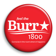 Burr Red Campaign Button