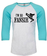 I'm so Fansie - Newsies youth kids t-shirt - 3/4 sleeve jersey