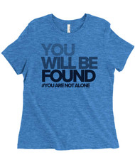 You Will Be Found - Dear Evan Hansen - Women's Relaxed Fit Triblend T-Shirt - Royal Blue