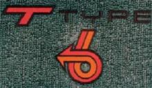 Floor Mats w/TType logo #63X- 1984-1987
