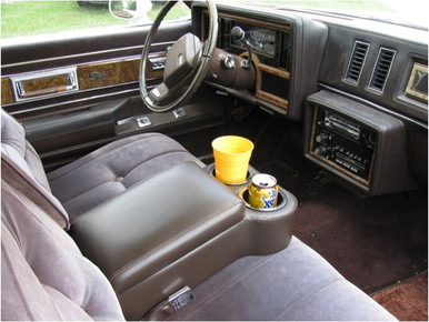 Bench seat BC Cruiser Long Bench Seat Center arm rest console with cup holder available from Highway Stars