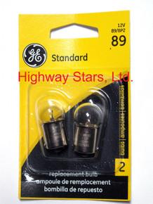GE bulbs package of 2 GE 89/BP2