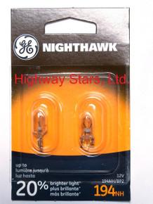 Bulbs - Nighthawk - Marker/Taillight Lamps GE 194NH