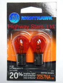 Bulbs - Nighthawk - Front turn signal lamps GE 2057NANH