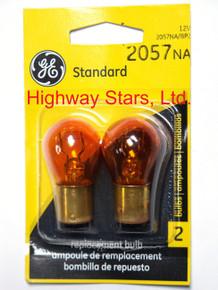 Bulbs - Front turn signal lamps GE 2057NA