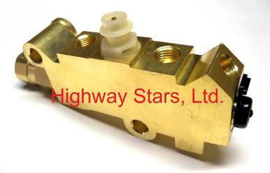 Brake proportioning valve or combination brake valve replaces GM # 25509419 (1012) sold at Highway Stars