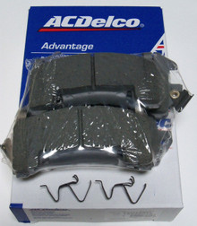 Brake Pads - ACDelco Advantage Ceramic