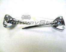Brackets - T-Top w/PS illuminated visor (long pin) swivels (PAIR consisting of 1-LH Reg, 1-RH-long pin lit visor)