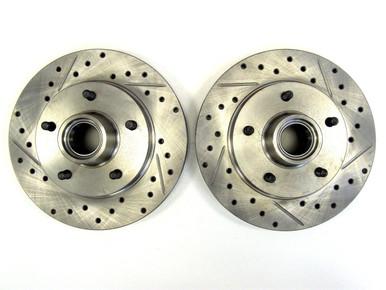 Buick Grand National directional brake rotors front