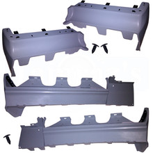 Buick Grand National Front & Rear Bumper fillers - Complete SET made of flexibleTPO plastic