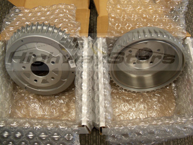 Aluminum Brake Drums for 1984-1987 Turbo Buick Regal Grand National 10 bolt available through Highway Stars