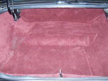 Trunk Kit - Deluxe Carpeted 9 pc w/boards