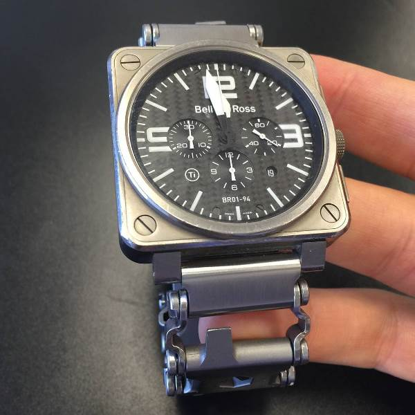 ChronoLinks: Leatherman Tread Multitool Watch Bracelet